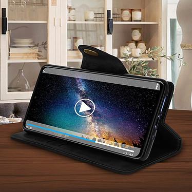 Acheter Avizar Etui folio Noir Éco-cuir pour Huawei Mate 20