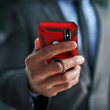Acheter Avizar Coque Rouge Bi-matières pour Apple iPhone XS Max