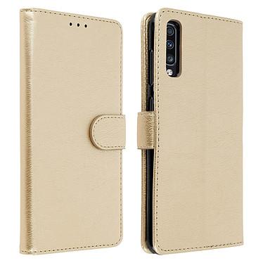 Avizar Etui folio Dorée pour Samsung Galaxy A70 Etui folio Dorée Samsung Galaxy A70