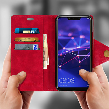 Avis Avizar Etui folio Rouge Sixties pour Huawei Mate 20 Lite