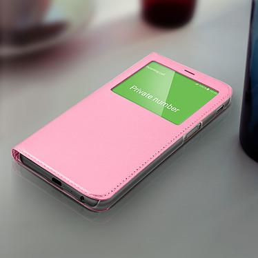 Acheter Avizar Etui folio Rose pour Samsung Galaxy J6 Plus
