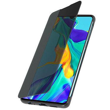 Avizar Etui folio Gris pour Huawei P30 pas cher