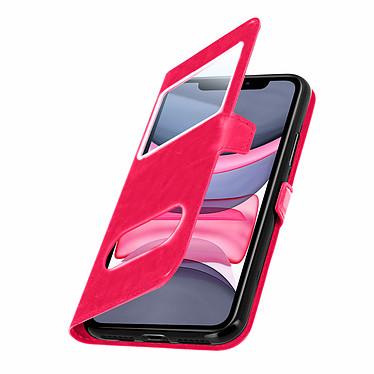 Avizar Etui folio Rose pour Apple iPhone 11 pas cher