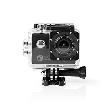 NEDIS Caméra sport Full HD 1080p Wi-Fi Noir Caméra sport Full HD 1080p Wi-Fi