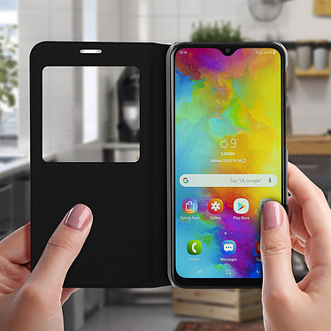 Acheter Avizar Etui folio Noir pour Samsung Galaxy M20