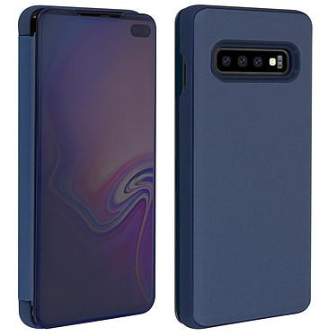 Avis Avizar Etui folio Bleu Nuit Miroir pour Samsung Galaxy S10 Plus