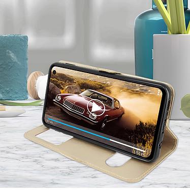 Avis Avizar Etui folio Dorée pour Samsung Galaxy S10