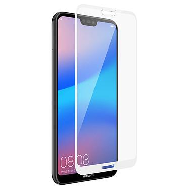 Avizar Film verre trempé Blanc pour Huawei P20 Lite Film verre trempé Blanc Huawei P20 Lite