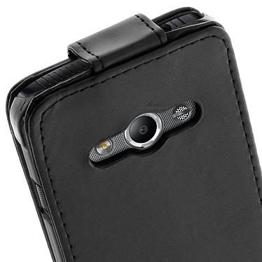 Avis Avizar Etui à clapet Noir pour Samsung Galaxy Xcover 3