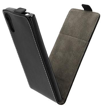 Avizar Etui à clapet Noir pour Sony Xperia XZ pas cher