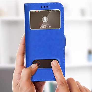 Acheter Avizar Etui folio Bleu pour Huawei P20 Lite