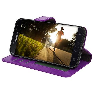 Avis Avizar Etui folio Violet pour Samsung Galaxy J3 2017