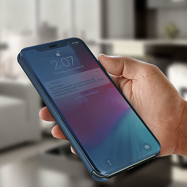 Avis Avizar Etui folio Bleu pour Apple iPhone 11 Pro Max