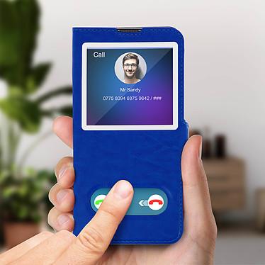 Acheter Avizar Etui folio Bleu pour Samsung Galaxy A50 , Samsung Galaxy A30s