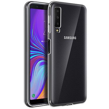Avizar Coque Transparent Souple pour Samsung Galaxy A7 2018 Coque Transparent souple Samsung Galaxy A7 2018