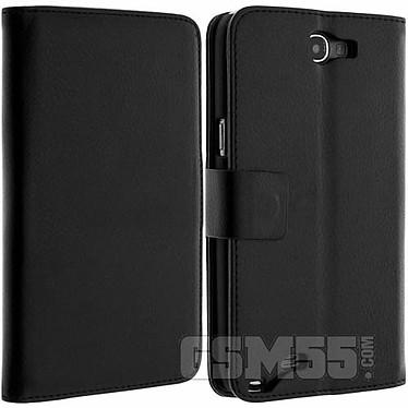 Acheter Avizar Etui folio Noir pour Samsung Galaxy Note 2 N7100