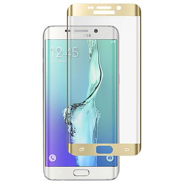Avizar Film verre trempé Dorée pour Samsung Galaxy S6 Edge Plus Film verre trempé Dorée Samsung Galaxy S6 Edge Plus