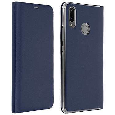 Avizar Etui folio Bleu Nuit pour Huawei P Smart Plus Etui folio Bleu Nuit Huawei P Smart Plus