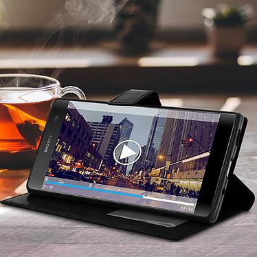 Acheter Avizar Etui folio Noir pour Sony Xperia XA2 Plus