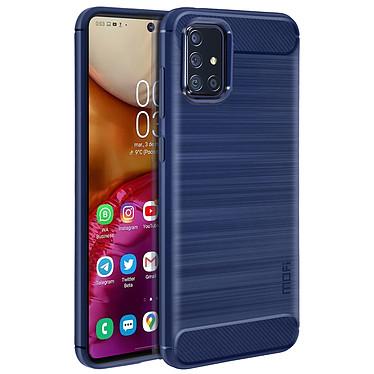 Avizar Coque Bleu Nuit pour Samsung Galaxy A71 pas cher