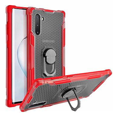Avizar Coque Rouge Contours Bumper pour Samsung Galaxy Note 10 pas cher
