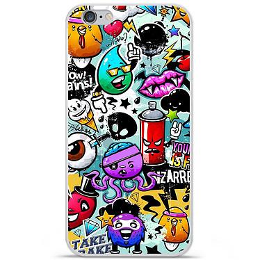 1001 Coques Coque silicone gel Apple IPhone 7 Plus motif Graffiti 2 Coque silicone gel Apple IPhone 7 Plus motif Graffiti 2