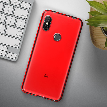 Acheter Avizar Coque Rouge pour Xiaomi Redmi Note 6 Pro