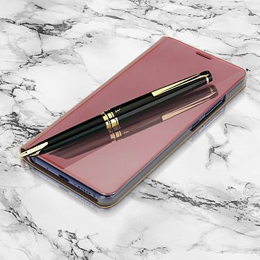Avizar Etui folio Rose pour Huawei Mate 10 Pro pas cher