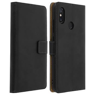 Avizar Etui folio Noir pour Xiaomi Mi 8 , Xiaomi Mi 8 Pro Etui folio Noir Xiaomi Mi 8 , Xiaomi Mi 8 Pro