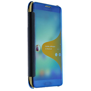 Avis Avizar Etui folio Bleu pour Samsung Galaxy S6 Edge Plus