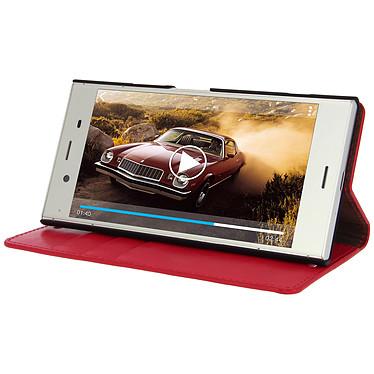 Avis Avizar Etui folio Rouge pour Sony Xperia XZ1
