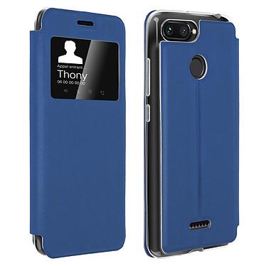 Avizar Etui folio Bleu pour Xiaomi Redmi 6A , Xiaomi Redmi 6 Etui folio Bleu Xiaomi Redmi 6A , Xiaomi Redmi 6