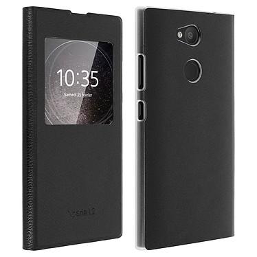 Avizar Etui folio Noir pour Sony Xperia L2 Etui folio Noir Sony Xperia L2