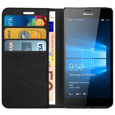 Acheter Avizar Etui folio Noir pour Microsoft Lumia 950 , Nokia Lumia 950