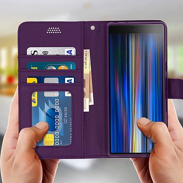 Acheter Avizar Etui folio Violet pour Sony Xperia 10