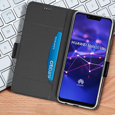 Acheter Avizar Etui folio Noir pour Huawei Mate 20 lite