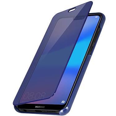 Avizar Etui folio Bleu pour Huawei P20 Lite pas cher