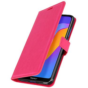 Avizar Etui folio Rose pour Huawei Y6 2019,Honor 8A pas cher