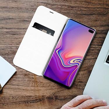 Acheter Avizar Etui folio Blanc pour Samsung Galaxy S10 Plus