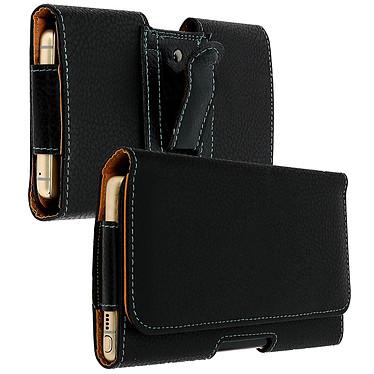 Avizar Etui ceinture Noir pour Smartphones : Longueur entre 172 x 100 x 18 mm pas cher