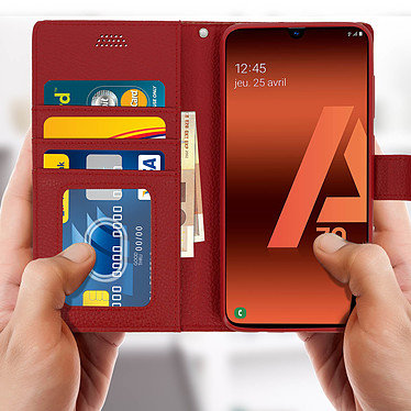 Acheter Avizar Etui folio Rouge pour Samsung Galaxy A70