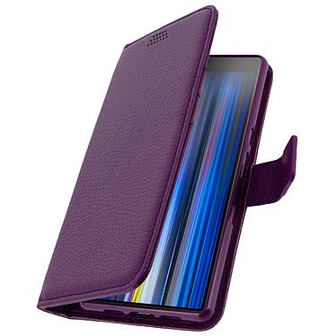 Avizar Etui folio Violet pour Sony Xperia 10 pas cher
