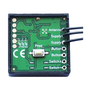 Creasol Module Radio Universel Pour Gâche électrique CREA_UNILOCK Récepteur permettant l'activation d'une gâche électrique depuis de nombreuses télécommandes de plusieurs fréquences, dont 433,92 MHz et 868,3 MHz.