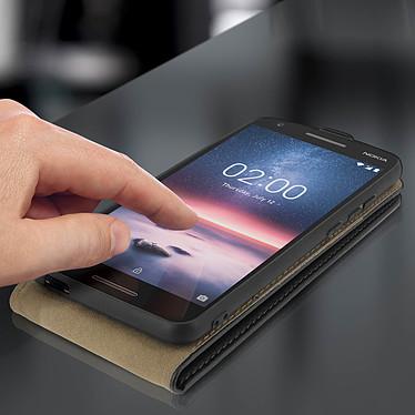 Acheter Avizar Etui à clapet Noir pour Nokia 2.1