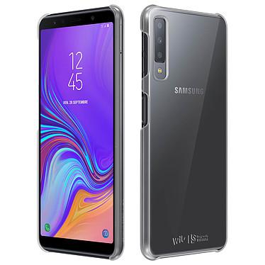 Avizar Coque Transparent pour Samsung Galaxy A7 2018 pas cher