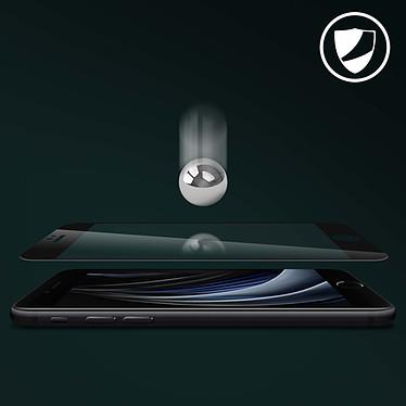 Acheter Avizar Film verre trempé Noir pour Apple iPhone 7 , Apple iPhone 8 , Apple iPhone SE 2020