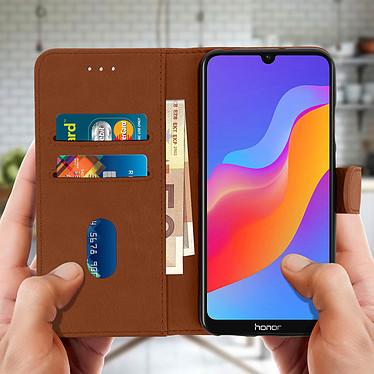 Acheter Avizar Etui folio Marron pour Huawei Y6 2019 , Honor 8A