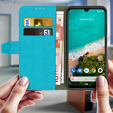 Acheter Avizar Etui folio Turquoise pour Xiaomi Mi A3