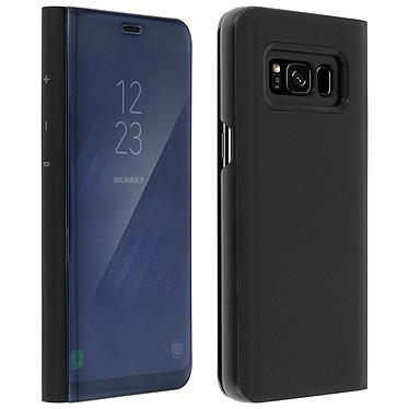 Avizar Etui folio Noir pour Samsung Galaxy S8 pas cher