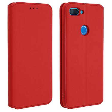 Acheter Avizar Etui folio Rouge Éco-cuir pour Xiaomi Mi 8 Lite